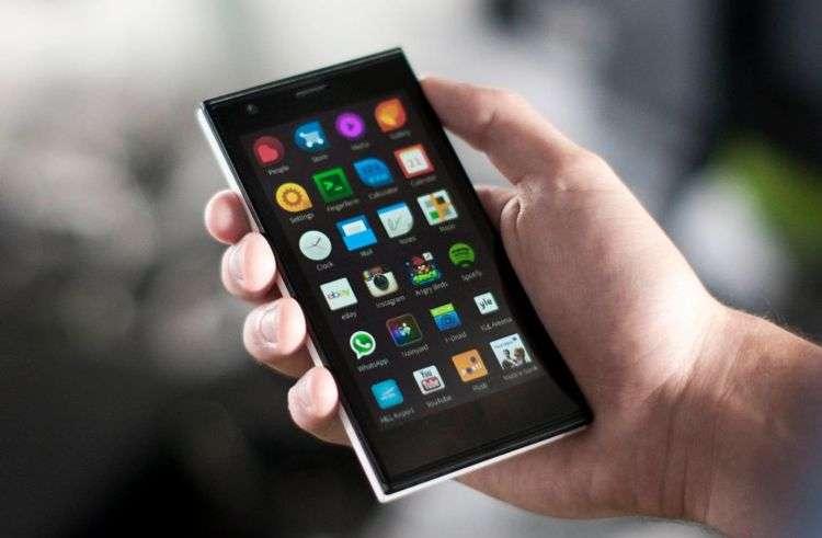 Jolla Sailfish-OS on OnePlus Two