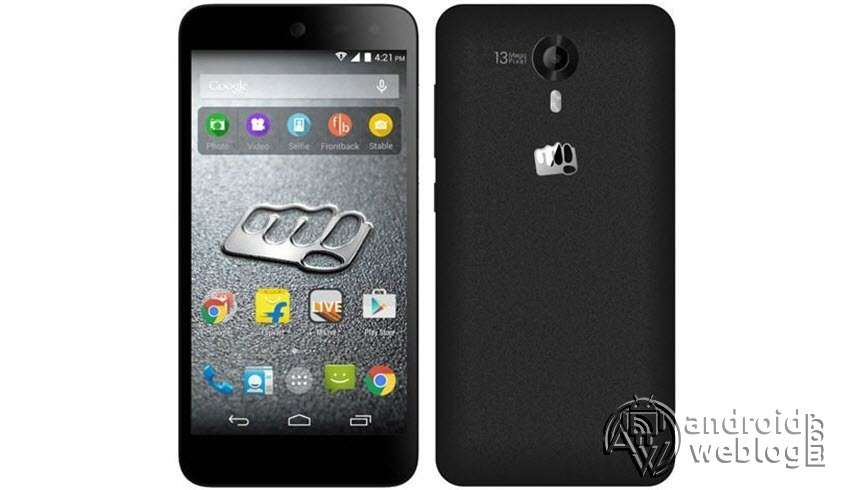 Micromax Canvas Nitro 4G E455 Rooting and TWRP Recovery