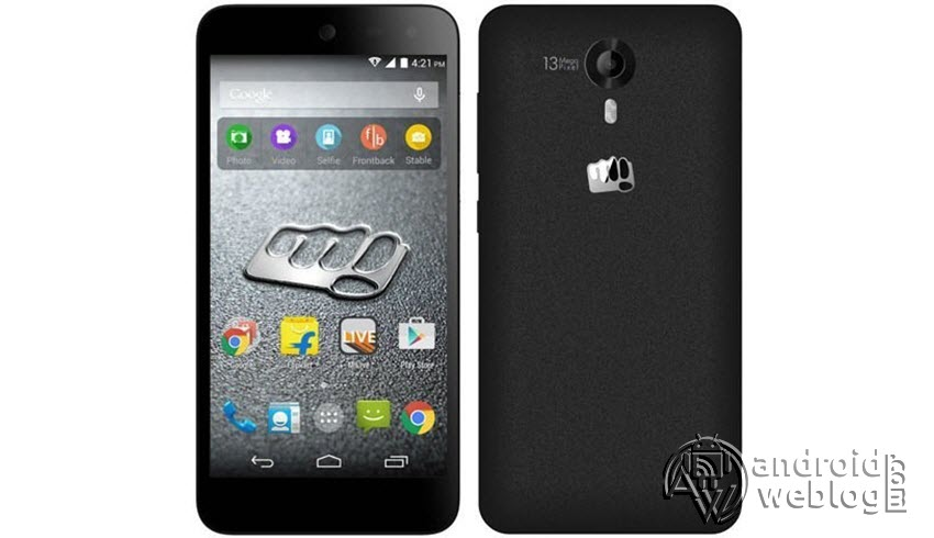 How to Root Micromax Canvas Nitro 4G E455 and Install TWRP