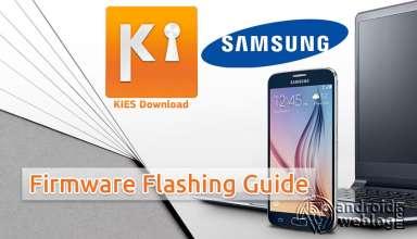 Samsung Kies Flashing Firmware Tutorial