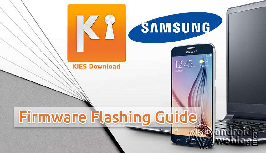 Samsung Kies Flashing Firmware Tutorial