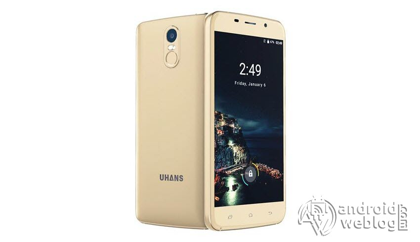 How to Install/ Update UHANS A6 to Android 7 0 Nougat Stock ROM