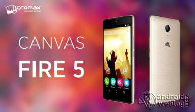 Micromax Canvas Fire 5 Q386 Rooting and Recovery