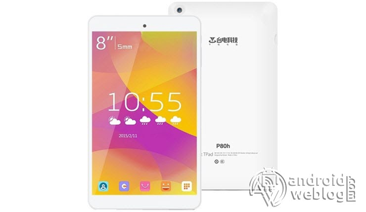 How to Root Teclast P80h Tablet PC and Install TWRP Recovery